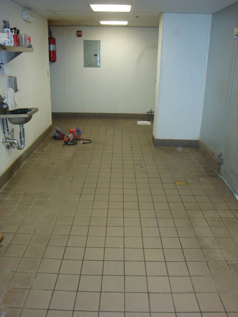 silikal flooring for repair and sealing over existing tile floors