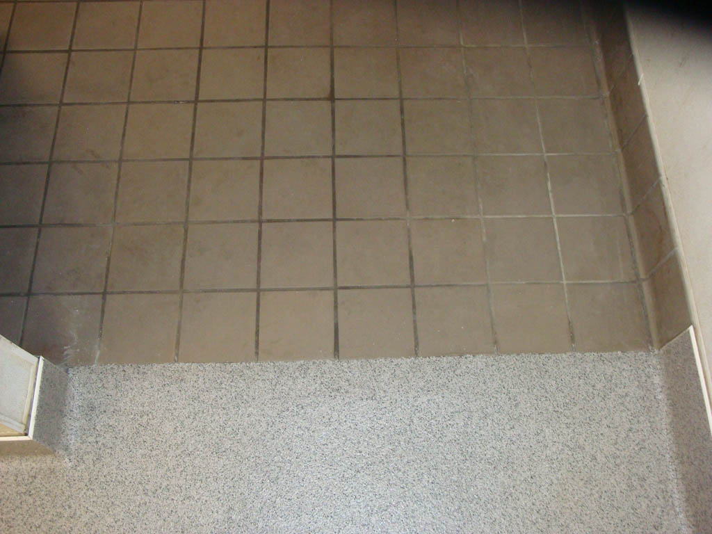 Silikal flooring for repair and sealing over existing tile floors deckade advanced flooring - Tile flooring ...